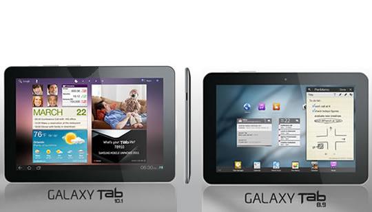Samsung Galaxy Tab 10.1 y 8.9