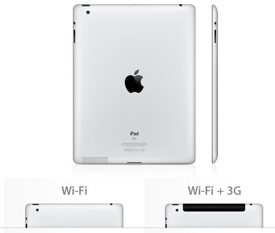 iPad 2 WiFi y 3G