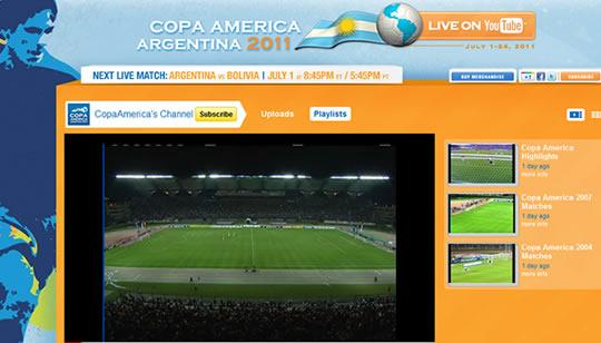 Copa America 2011 en vivo