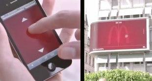 Mercadeo y Publicidad McDonalds Suiza Valla Publicitaria interactiva