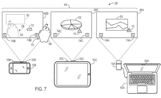 Proyector Pico Patente Apple