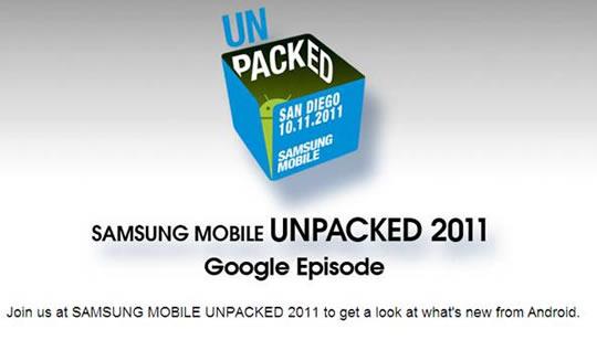 Invitacion Samsung Google Nexus Prime