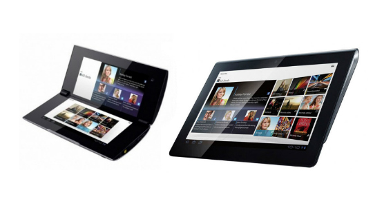 Sony Tablet P y Sony Tablet S