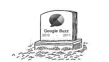 RIP Google Buzz