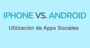 iPhone vs Android apps sociales
