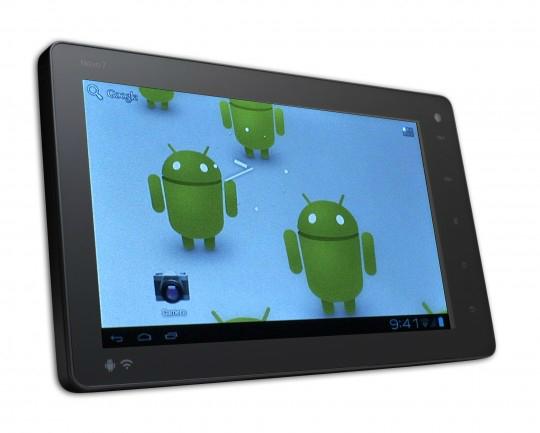 Primer tablet con Android Ice cream Sandwich