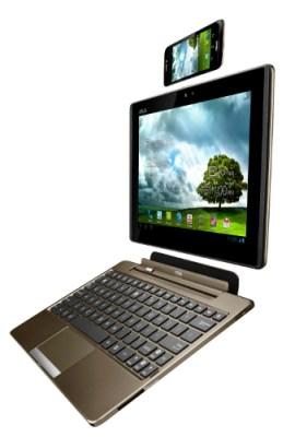 ASUS Padfone - Teléfono Tablet Laptop