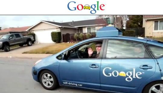 Google Carro con Auto Manejo