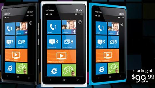 Nokia Lumia 900 USA