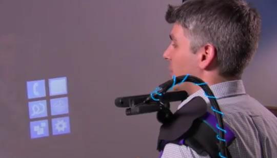 Tecnología Proyección Táctil