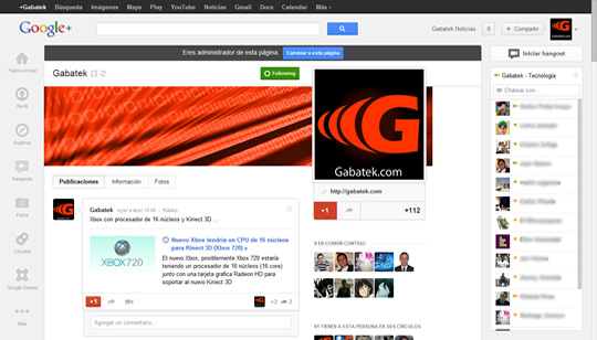 Gabatek Google Plus