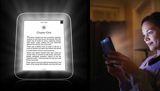 Nook Simple Touch con GlowLight