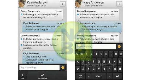 BBM para blackBerry 10