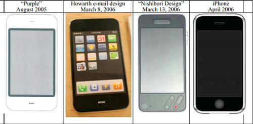 Prototipos iPhone