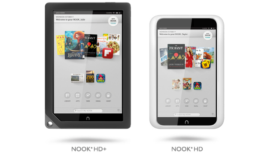 Android Tablets Nook HD