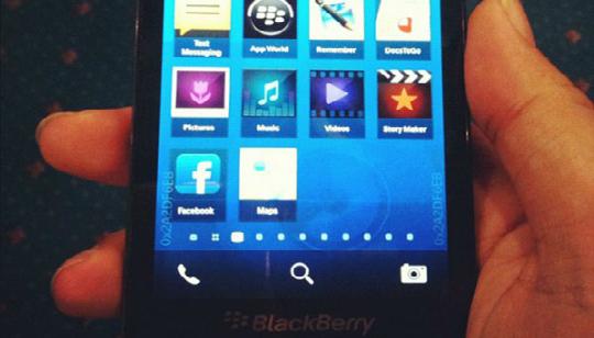 BlackBerry 10 London