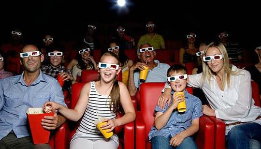 Tecnología Película 3D