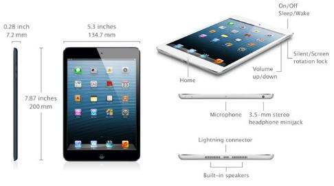 Características iPad Mini