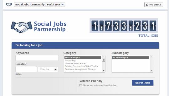 Trabajos Facebook