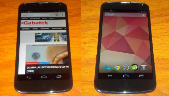 Nexus 4 Análisis