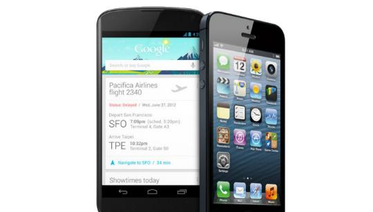 Android Comparacion iOS