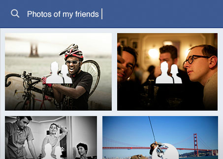 Facebook búsqueda Fotos de Amigos