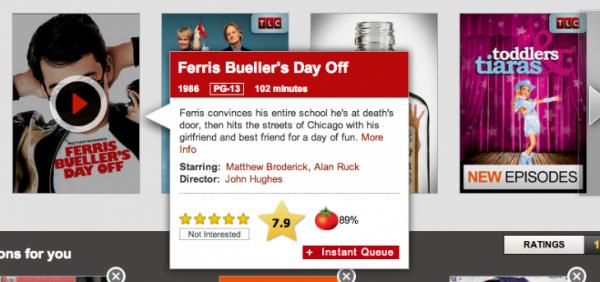 IMDb y Rotten Tomatos en Netflix