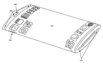 Patente iPhone 6