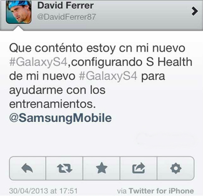 Ferrer Galaxy S4 iPhone