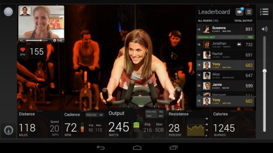 Clases Bicicleta Estática con Android