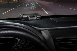 Garmin HUD Pantalla Visualizacion Frontal