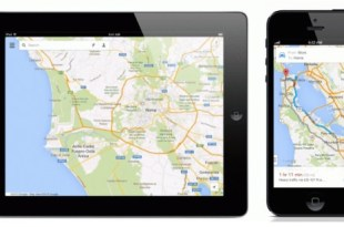 Google Maps 2.0 iPad iPhone