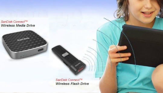 Memoria USB Inalámbrica SanDisk