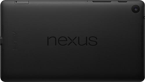 Nuevo Nexus 7 Camara