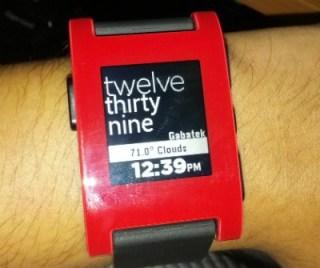 Análisis Reloj Pebble