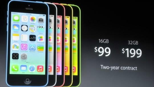 Precio iPhone 5C