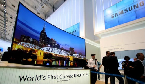 Televisor Samsung UHD Curvo