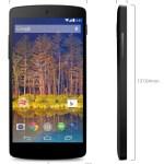 Nexus 5 Medidas
