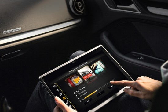 Tablet Audi con Android