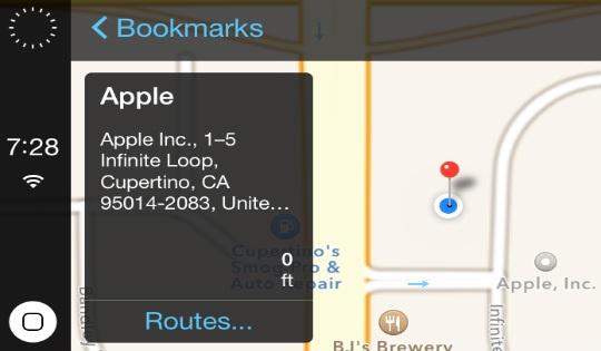 iOS en Carros Foto