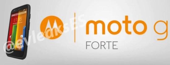 Moto G Forte Foto