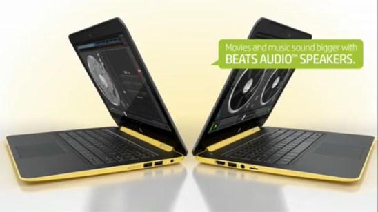 Computador HP con Beats Audio