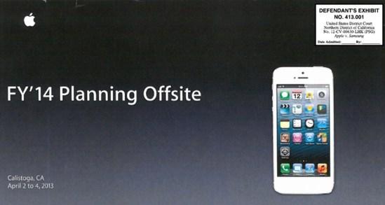 Presentacion iPhone 2013