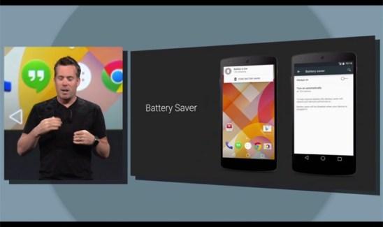 Android-L-bateria Project Volta