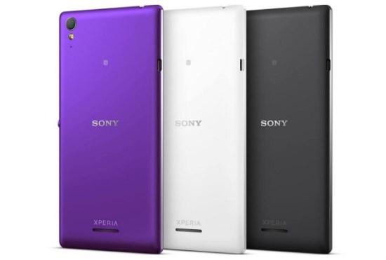 Sony Xperia T3 Colores