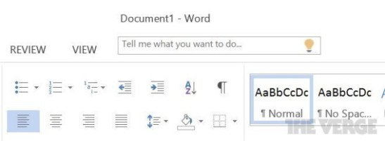 Office 16 Tell me asistente