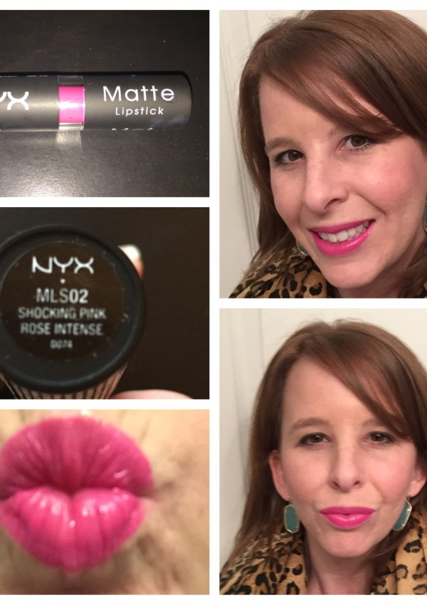 NYX Matte Lipstick Review