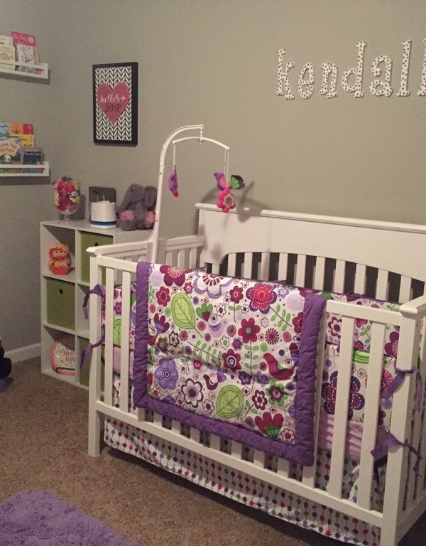 BABY GIRL'S PERFECT NURSERY