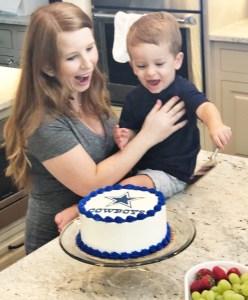 Dallas Cowboy Cake