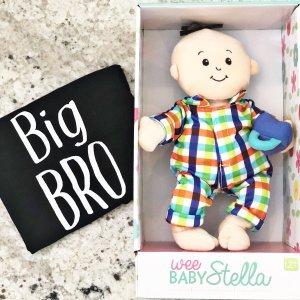 Wee Baby Stella Boy Doll